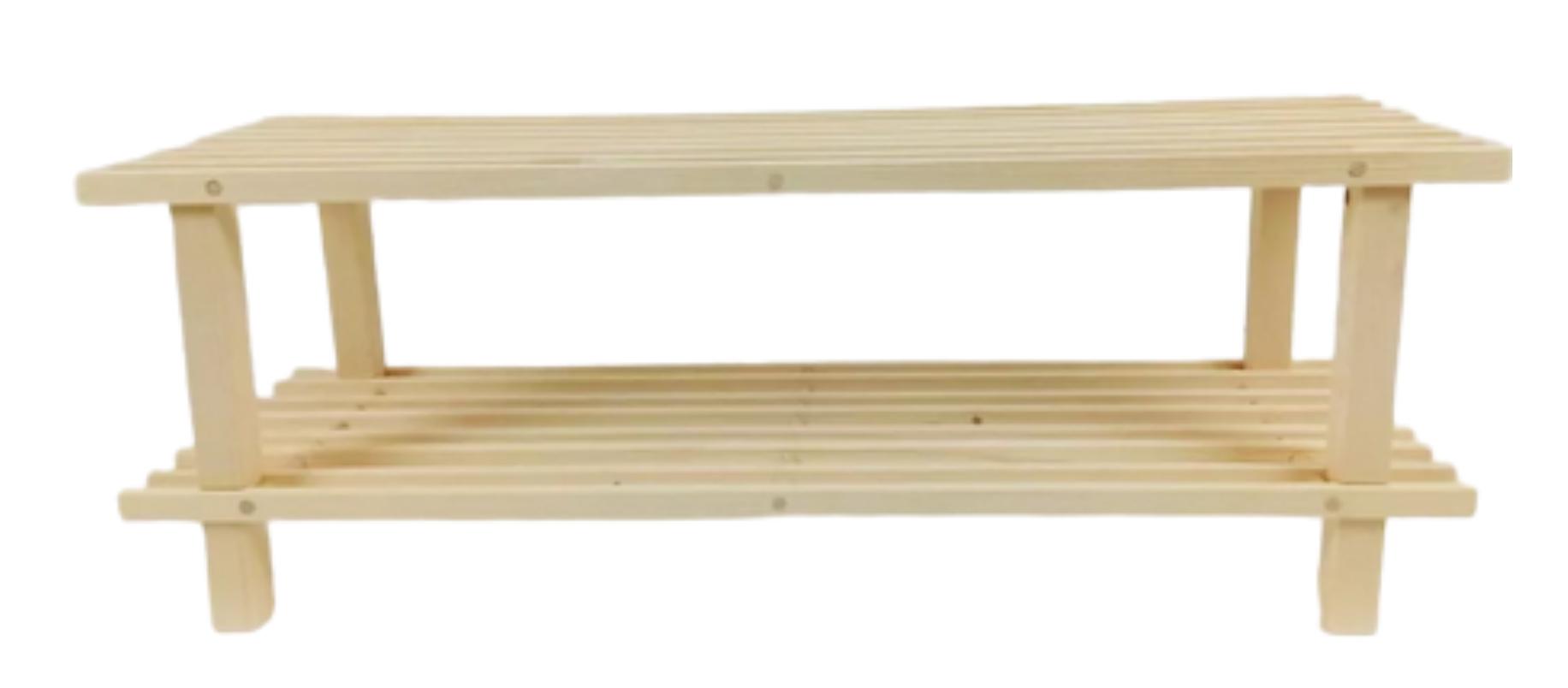 MERCURY drevený stojan na obuv