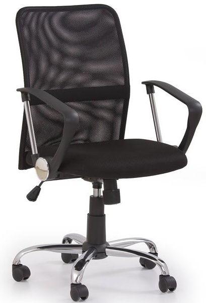 HALMAR kancelárská stolička TONY čierná