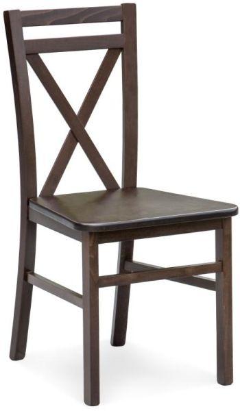 HALMAR Jedálenská stolička DARIUSZ 2 tm. orech