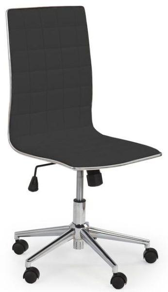 HALMAR kancelárská stolička TIROL čierná
