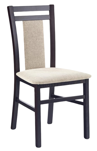 HALMAR Jedálenská stolička HUBERT 8 wenge/vila 2