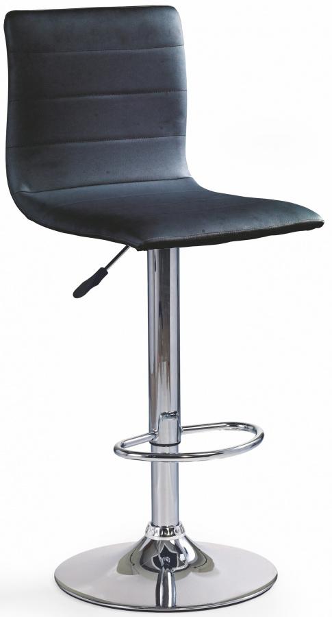HALMAR barová stolička H21 čierna