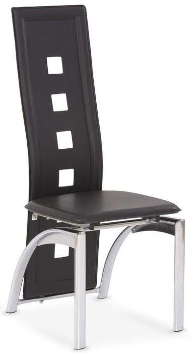 HALMAR Jedálenská stolička K4 čierna