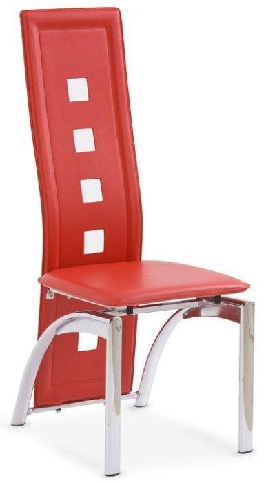 HALMAR stolička K4 červená