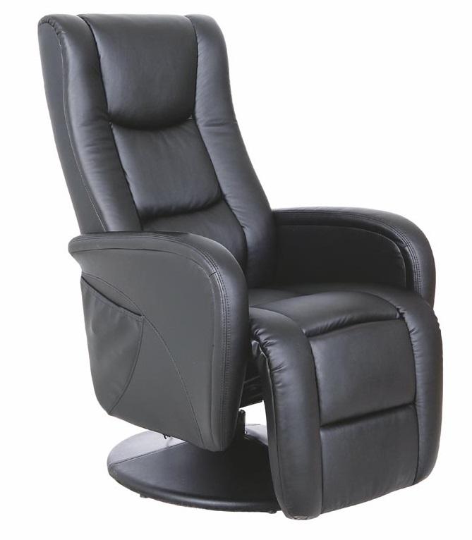 HALMAR relaxačné kreslo Pulsar čierne