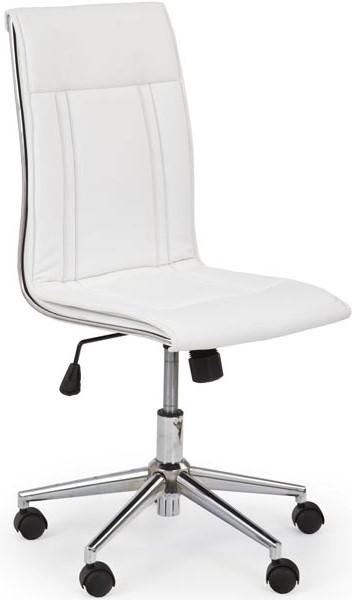 HALMAR Kancelárská stolička PORTO biela