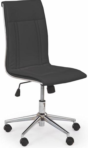 HALMAR Kancelárská stolička PORTO čierna