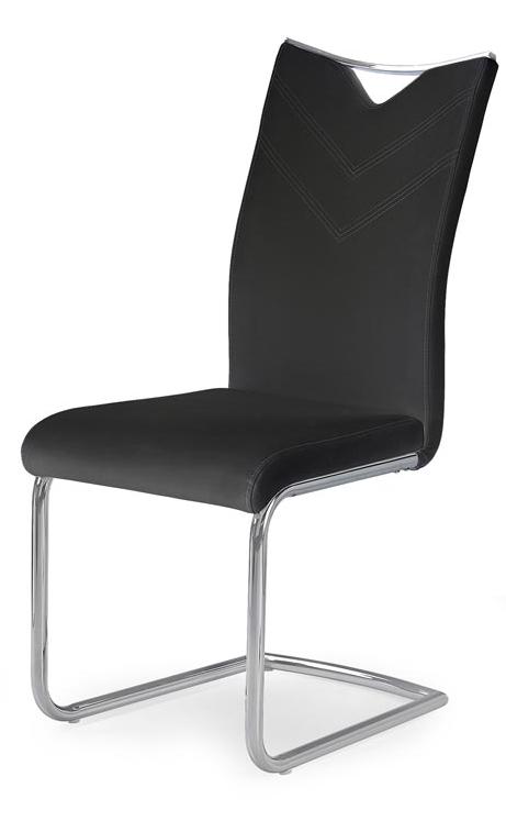 HALMAR Jedálenská stolička K224 čierna