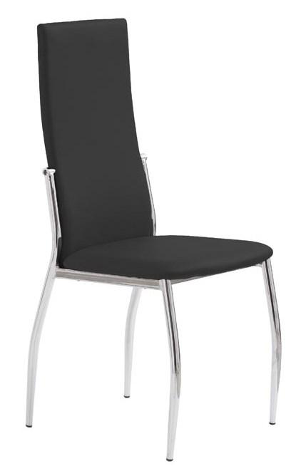 HALMAR Jedálenská stolička K3 čierna