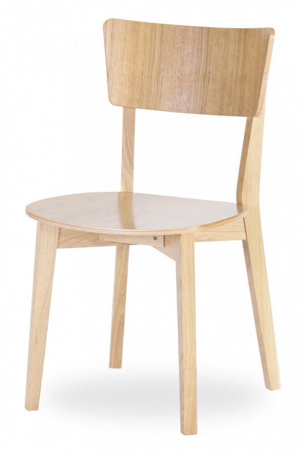 MI-KO jedálenská stolička Dimmy dub masív