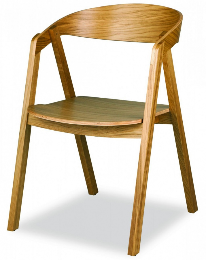 MI-KO jedálenská stolička Guru dub masív