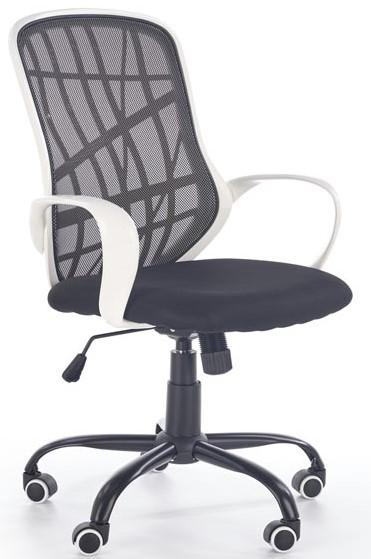 HALMAR Kancelárská stolička DESSERT bílá