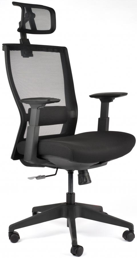 MERCURY Kancelárská stolička M5 čierná