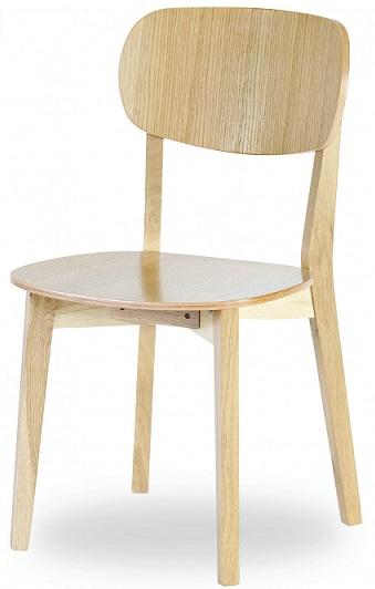 MI-KO Jedálenská stolička Robinson dub masív, látka