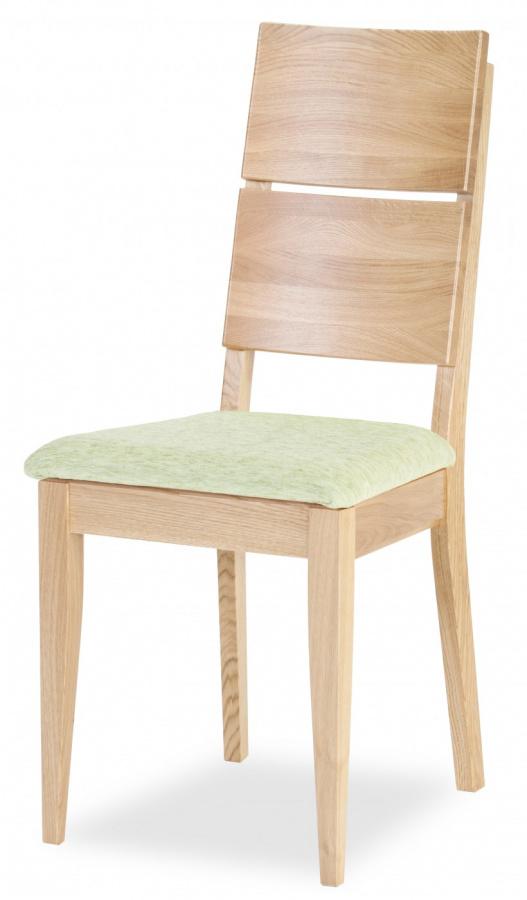 MI-KO Jedálenská stolička Spring K2 dub masív, látka