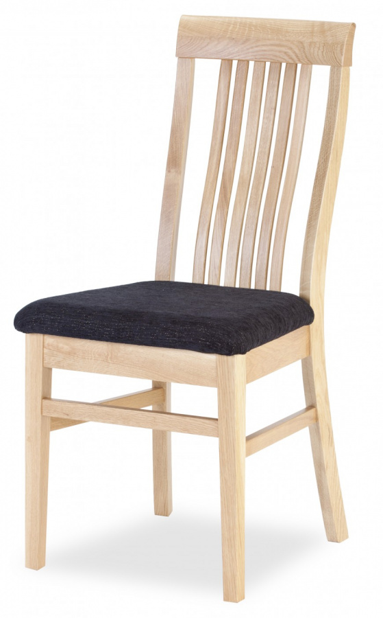 MI-KO Jedálenská stolička Takuna dub masív, látka