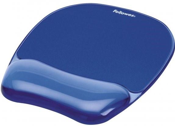 PALA Podložka pod myš a zápěstí Fellowes CRYSTAL gelová modrá