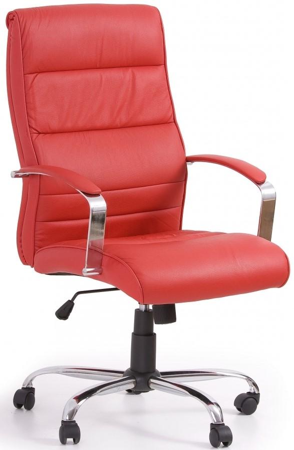 HALMAR kancelárské kreslo TEKSAS červené