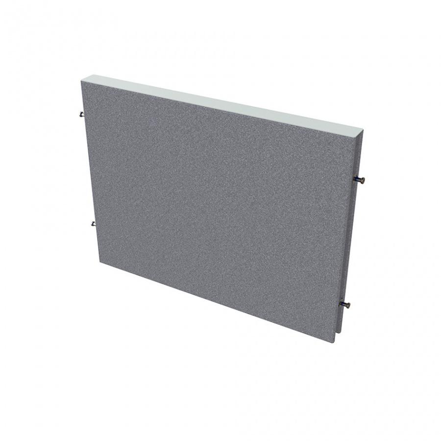 HOBIS Paraván na plochu stolov dĺžka 80 cm TPA S800 (bez koncových stĺpikov)