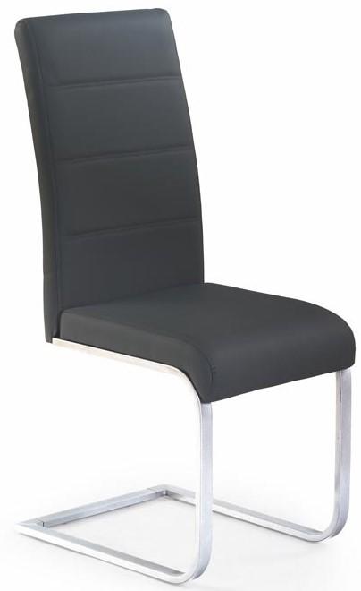 HALMAR Jedálenská stolička K85 čierna