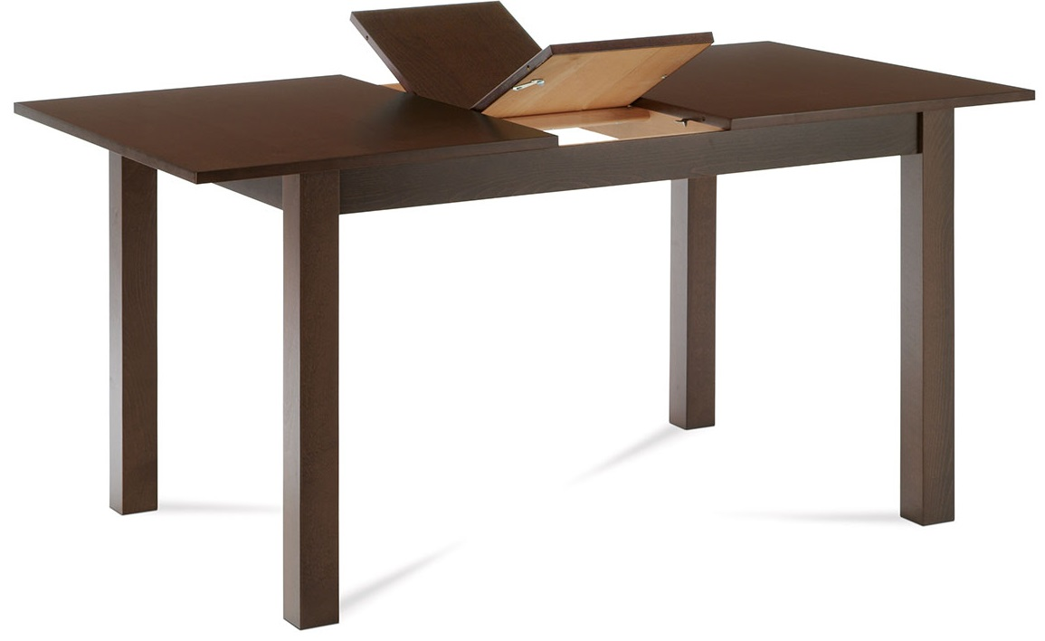 AUTRONIC jedálenský stôl rozkladací BT-6930 WAL, 120+30x80x75 cm