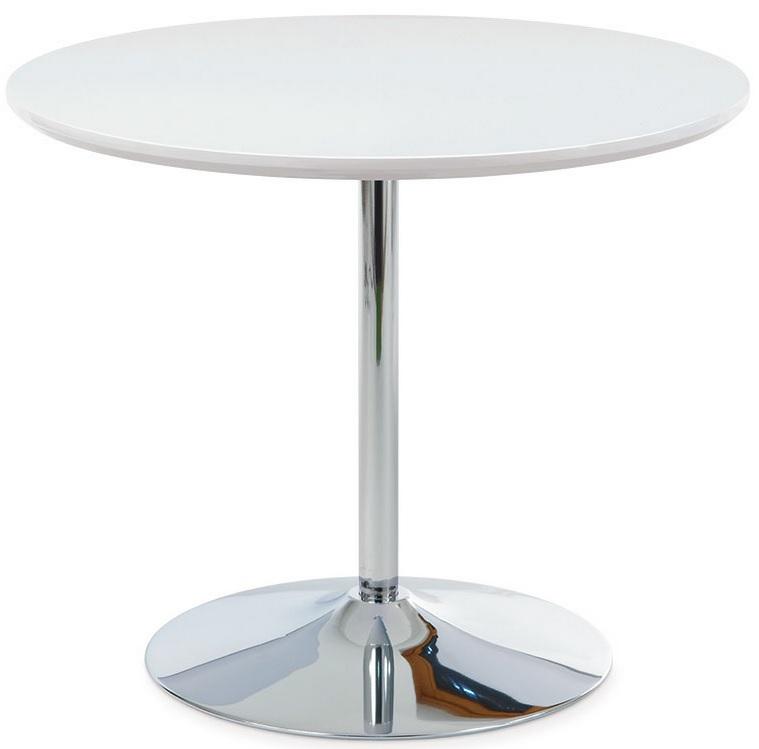 AUTRONIC jedálenský stôl AT-1901 WT, pr. 90 cm