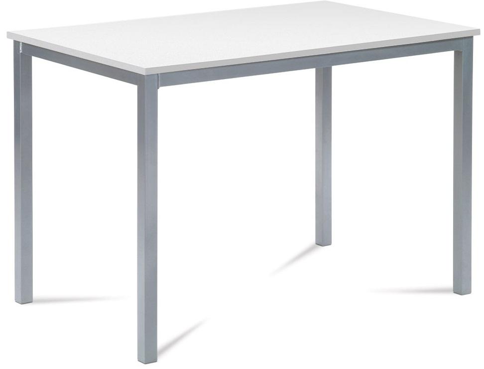 AUTRONIC jedálenský stôl GDT-202 WT, 110x70 cm