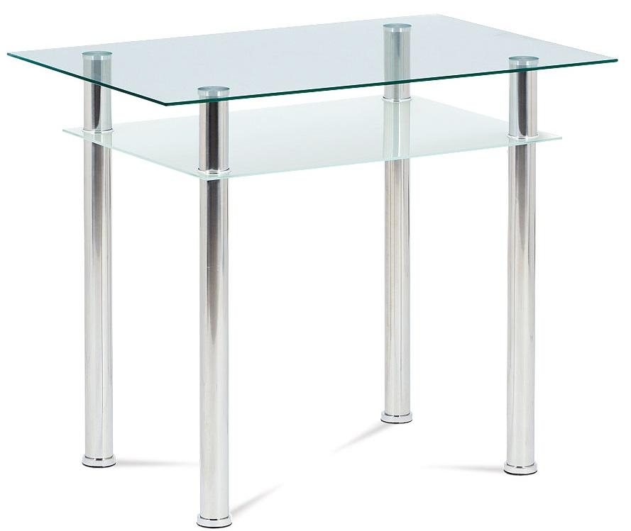AUTRONIC jedálenský stôl GDT-111 CLR, 90x60 cm