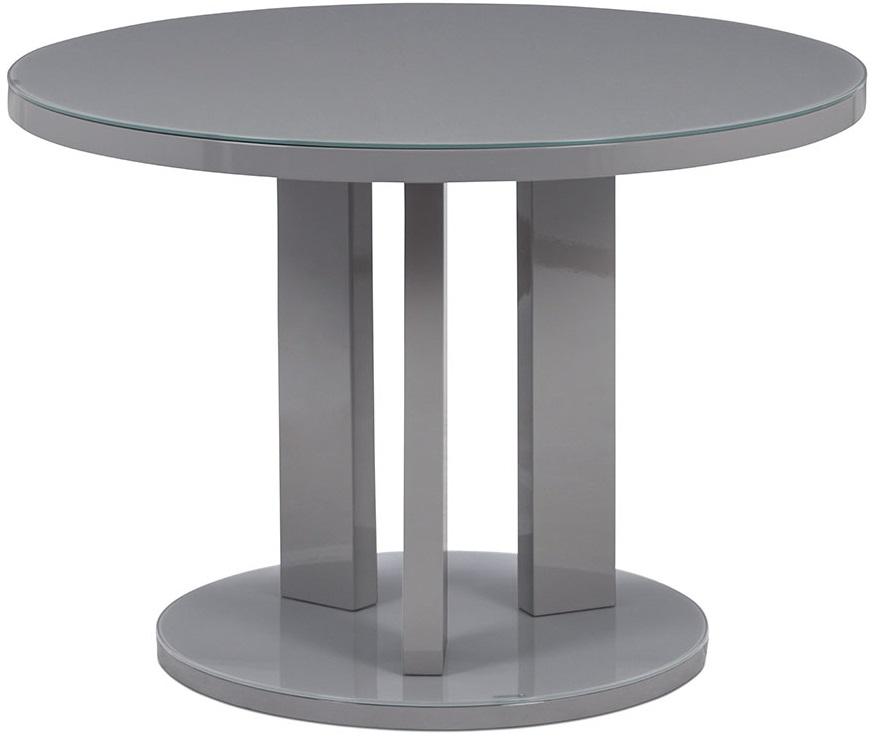 AUTRONIC jedálenský stôl AT-4003 GREY, priemer. 108 cm