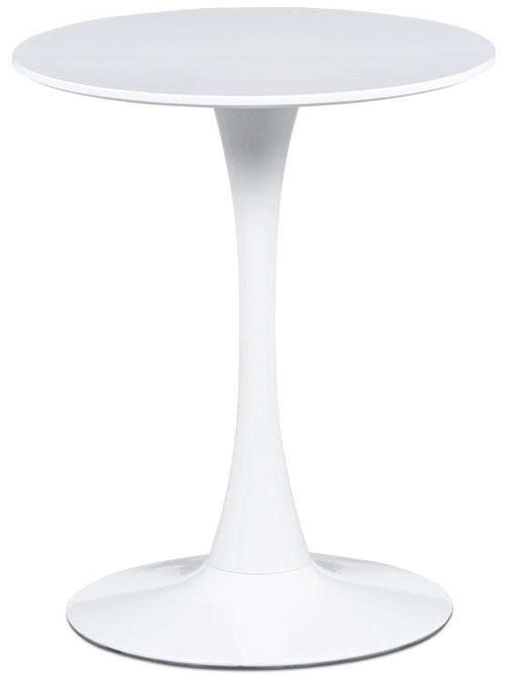 AUTRONIC jedálenský stôl DT-560 WT, pr.60x72 cm