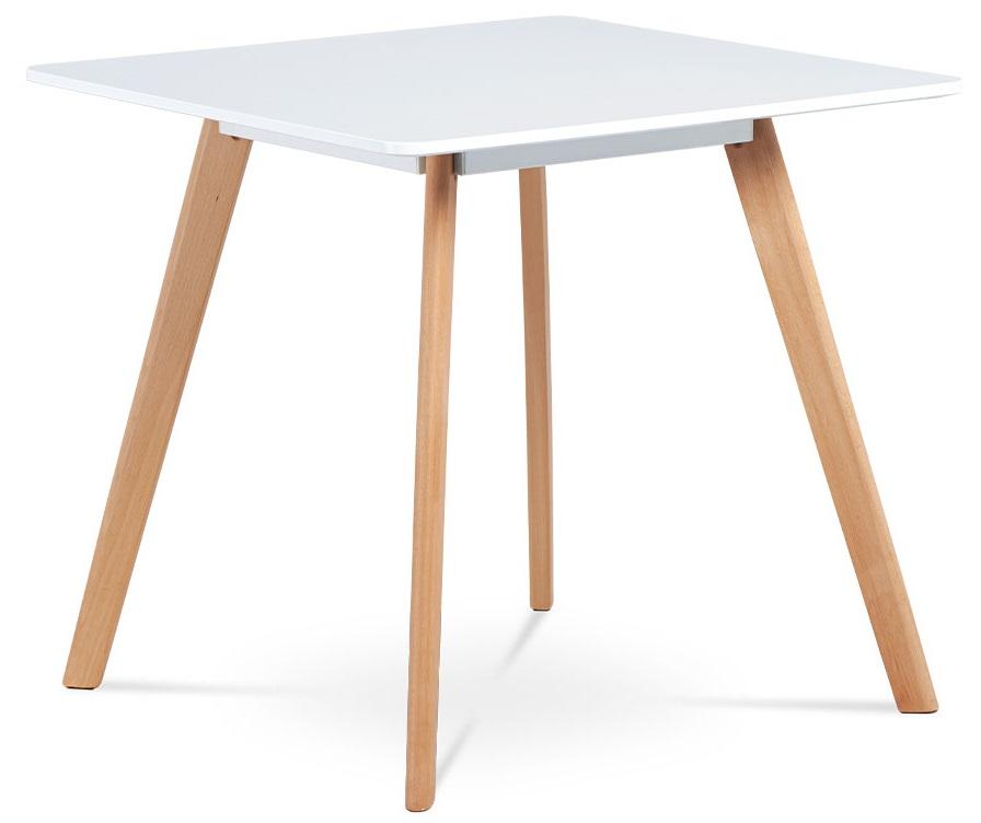 AUTRONIC jedálenský stôl DT-606 WT biely
