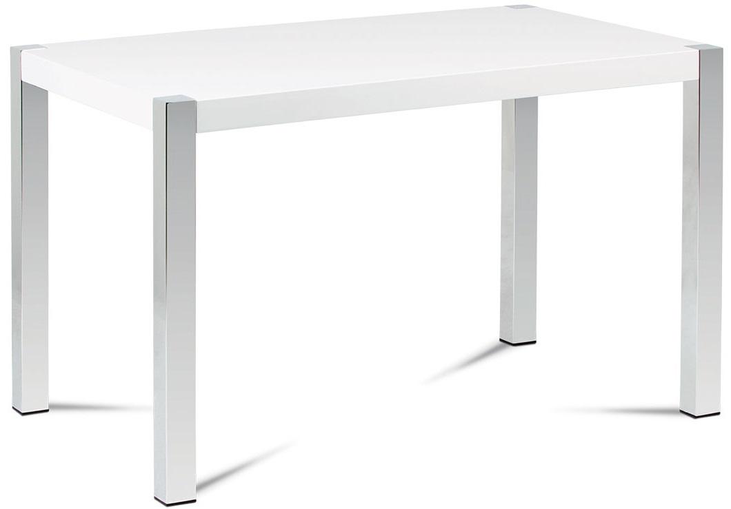 AUTRONIC jedálenský stôl AT-2066 WT, 120x75 cm