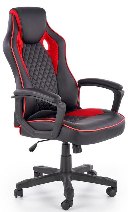 HALMAR Kancelárske kreslo Baffin čierno / červená