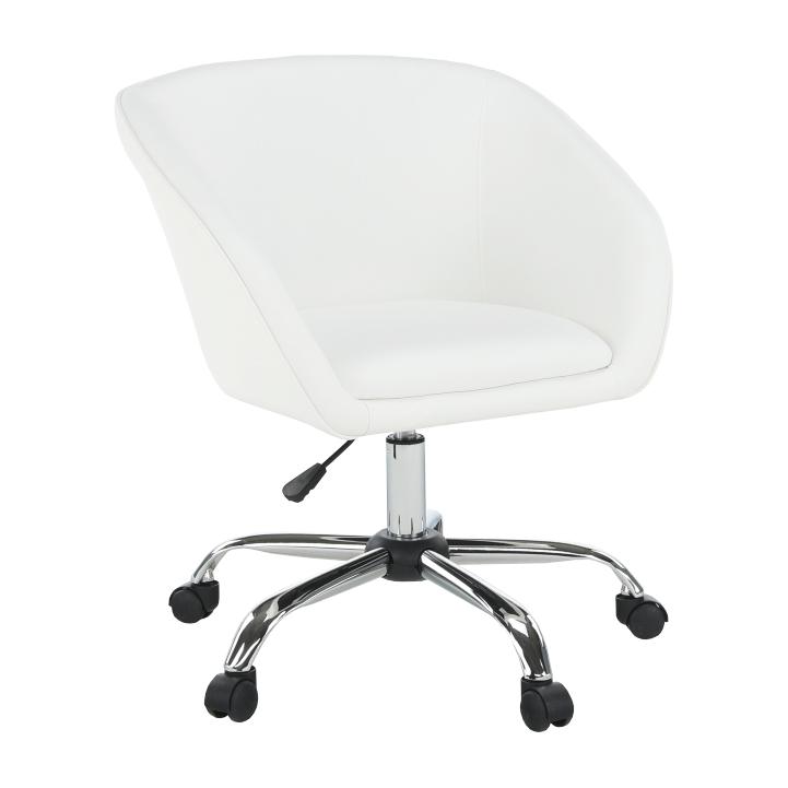 TEMPO KONDELA Kncelárská stolička LENER biela