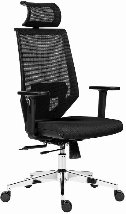 ANTARES kancelárska stolička EDGE čierna č.AOJ986S.  Kancelárska stolička Edge s uhlovo