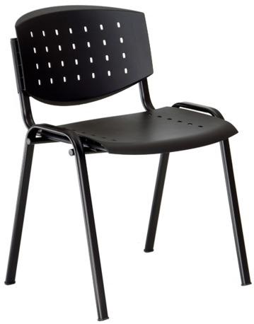 ALBA konferenčná plastová stolička LAYER