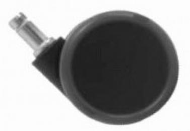 742f4d1838a41 sada koleček zátěžových TREND, pogumovaná, priemer 65mm, čep 11mm