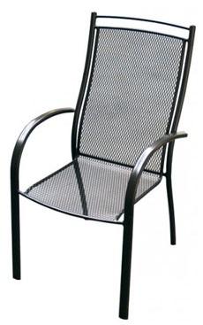 UNIKOV zahradná stolička kovová ELTON U007